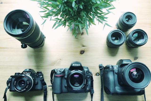 Nikon camera collection so far.
