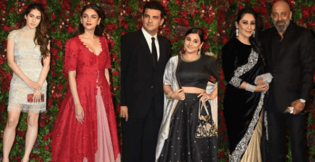 Well-Known B'townies Mark Their Presence At DeepVeer's Wedding Reception