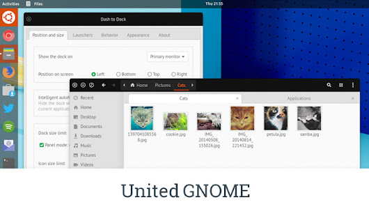 United GNOME Theme Updated, Looks Better Than Ever