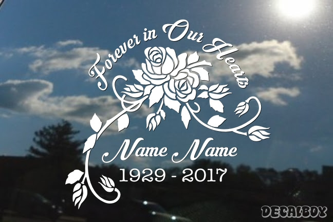 Frames Memorial Decals Stickers Page 4 Decalboy