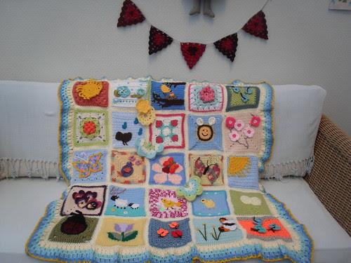 'The Spring Challenge 'Blanket 1')