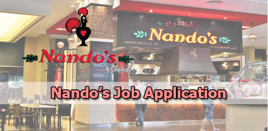 Nando's Job Application Form 2018 | Job Application Center