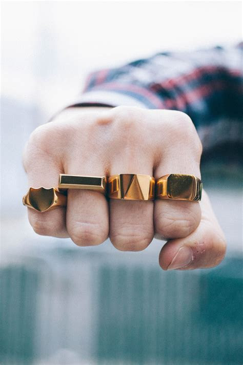 Stylish and edgy rings from MISTER   Jewelry   Pinterest