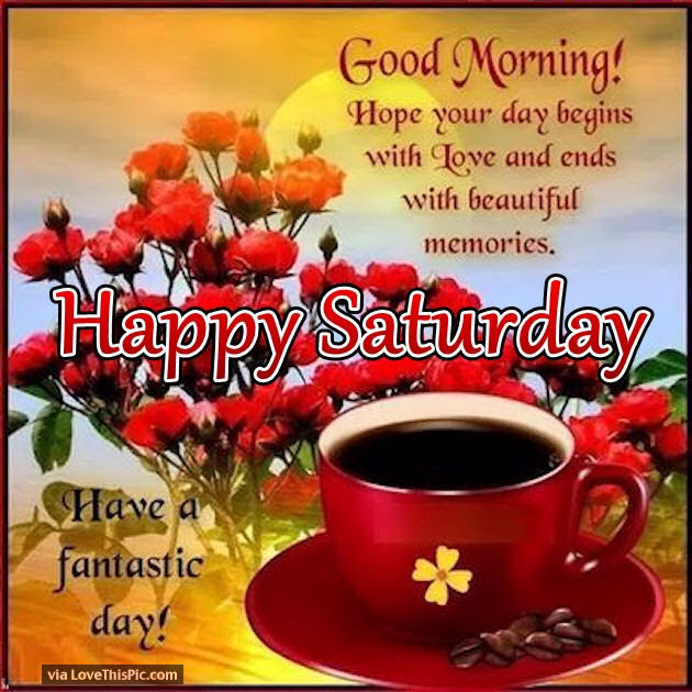 Good Morning Have A Nice Day Happy Saturday Pictures Photos And