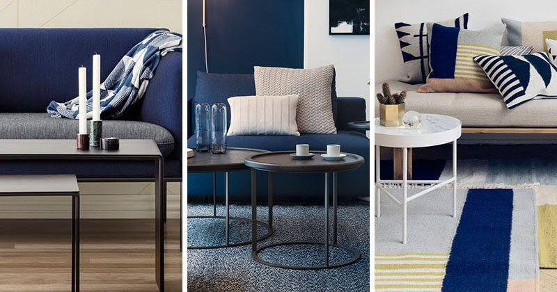 4 Ways To Use Navy Home Decor To Create A Modern Blue Living