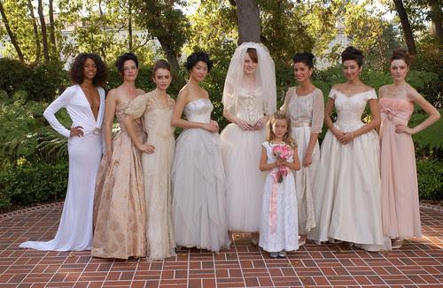 Elizabeth Mason, The Paper Bag Princess, Vintage Bridal Fashion Show, Vintage Wedding, Vintage Bridal