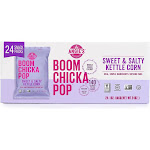 Angie's Boomchickapop Kettle Corn, Sweet & Salty, 1 Oz, 24 Ct (Pack of 24)
