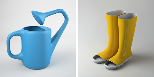 Designer Creates Perfectly Useless Product Designs