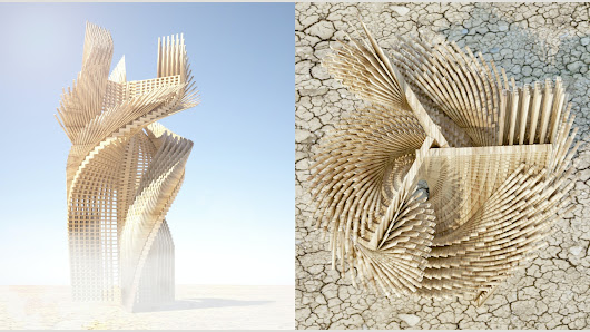 Making Architecture: Tangential Dreams for Burning Man 2016
