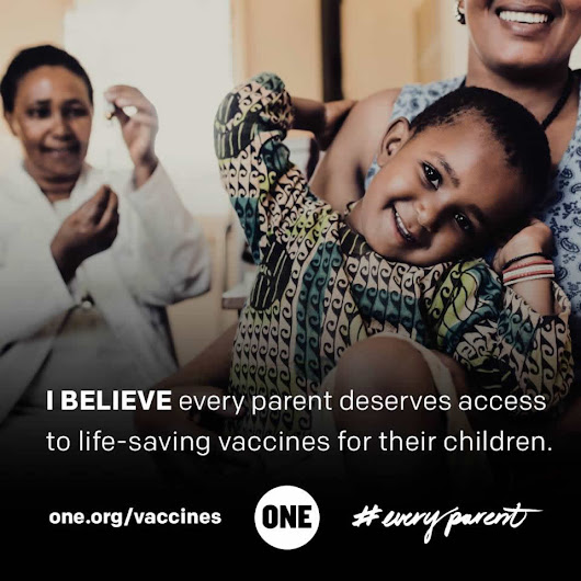 EveryParent should live without fear of losing a child to preventable disease