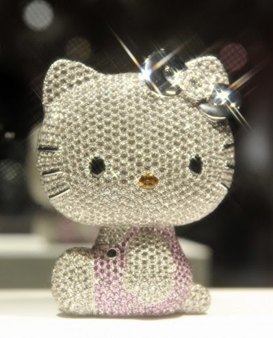 Hello Kitty jewel figure