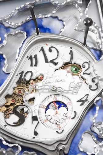 Dale Mathis - Relógio Salvador Daliano - Detalhe