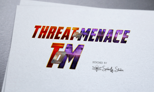 Threat or Menace Logo | Spiderfly Studios