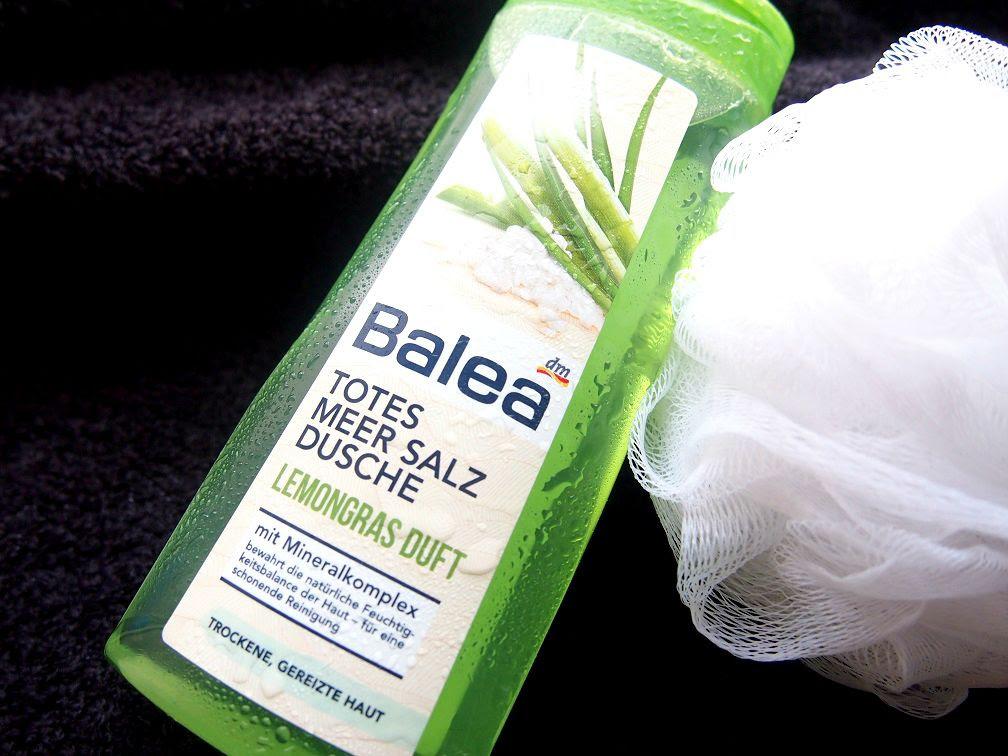 Balea, Totes Meer Salz Dusche, Lemongras Duft