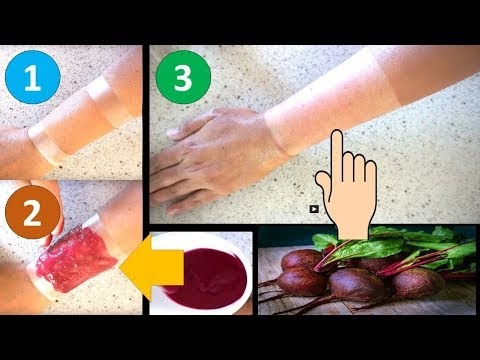 1 USE SKIN WHITENING REMEDY || LIVE DEMO || WHITEN SKIN WITH  BEETROOT
