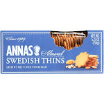 Anna's Swedish Cookies, Almond Thins - 5.25 Ounce -PACK 12