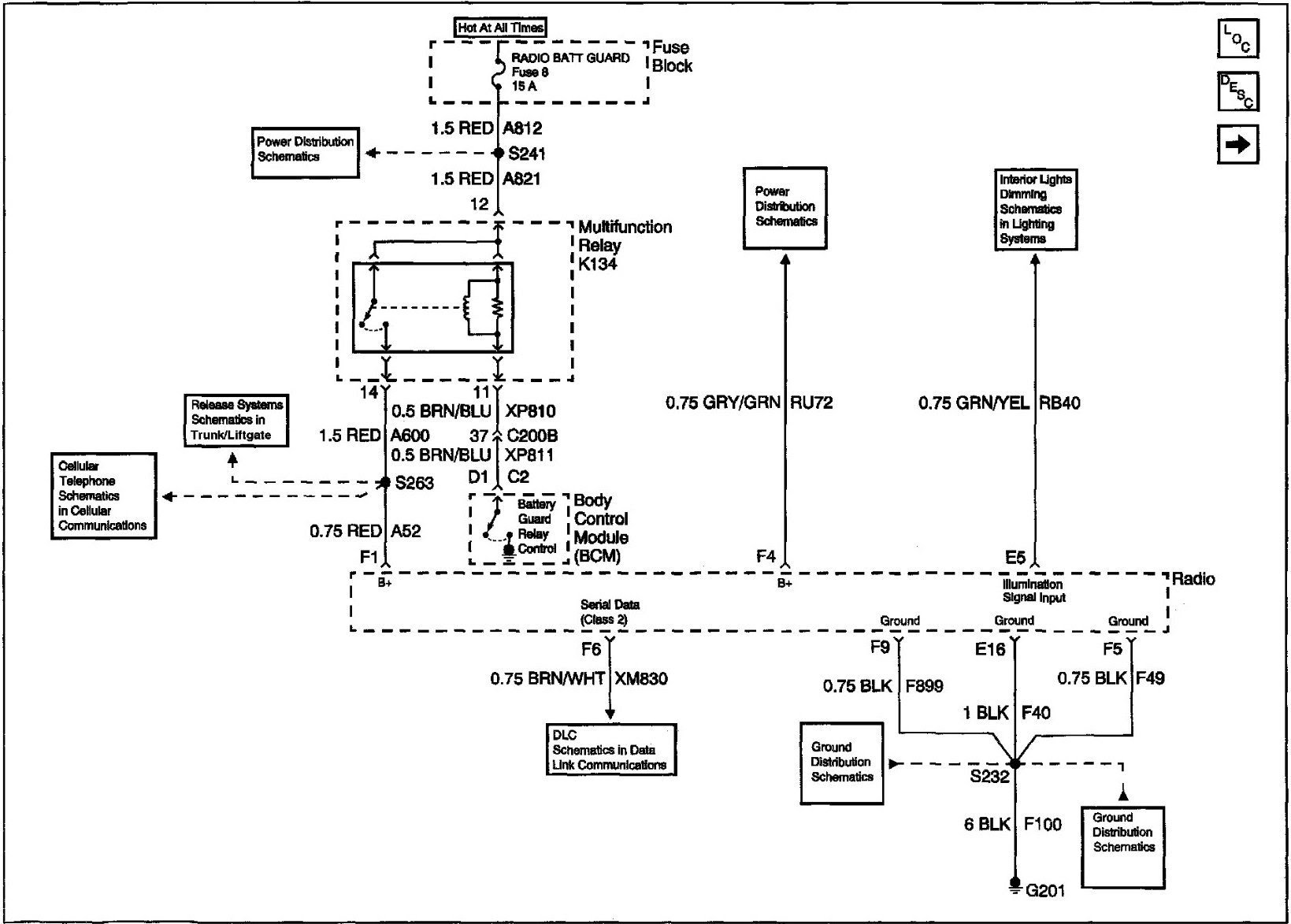 Cadillac Northstar Alternator Wiring Wiring Diagram Local A Local A Maceratadoc It