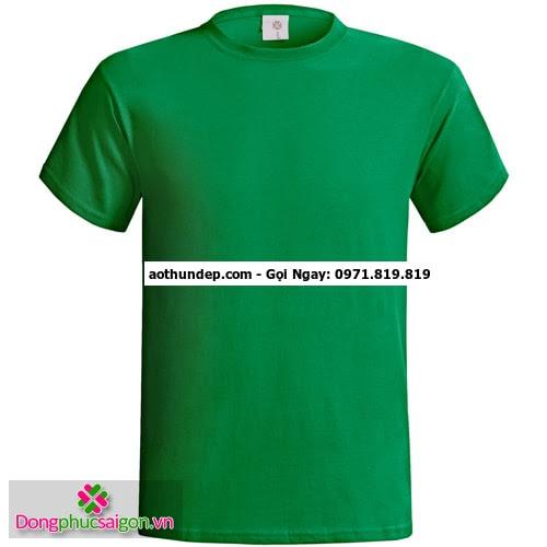 áo thun xanh lá cây