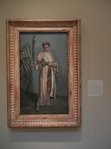DSCN7790 _ Woman in a Moorish Costume, 1869, Jean-Frédéric Bazille (1841-1870), Norton Simon Museum, July 2013