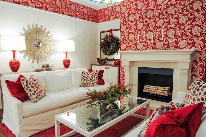 Wallpaper Pemandangan Ruang Tamu | Ide Rumah Minimalis