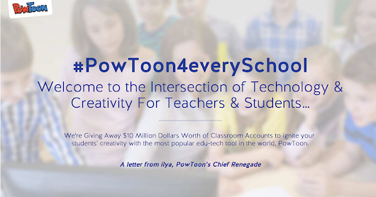 #PowToon4everySchool