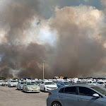 פיצוץ במפעל תעש השרון. במקביל, שריפה משתוללת בפי גלילות. צפו מאת - צומת השרון הרצליה