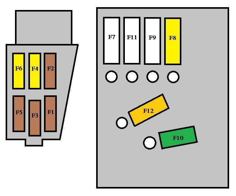 2012 Infiniti G37 Fuse Box Diagram