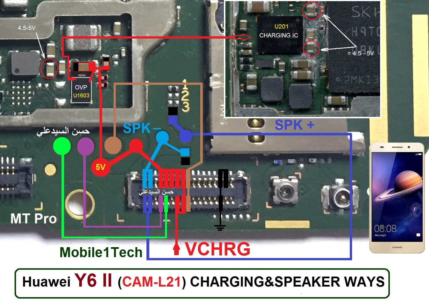 Huawei Y6 II Ringer Solution Jumper Problem Ways