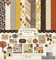Набор бумаги и декора от Echo Park - Reflections Fall Collection Kit - ScrapUA.com