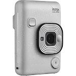 Fujifilm Instax Mini LiPlay Compact Digital Camera - Stone white