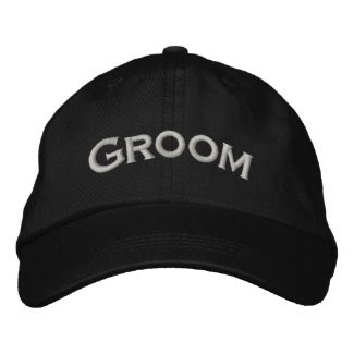Groom Embroidered Cute Wedding Hat embroideredhat