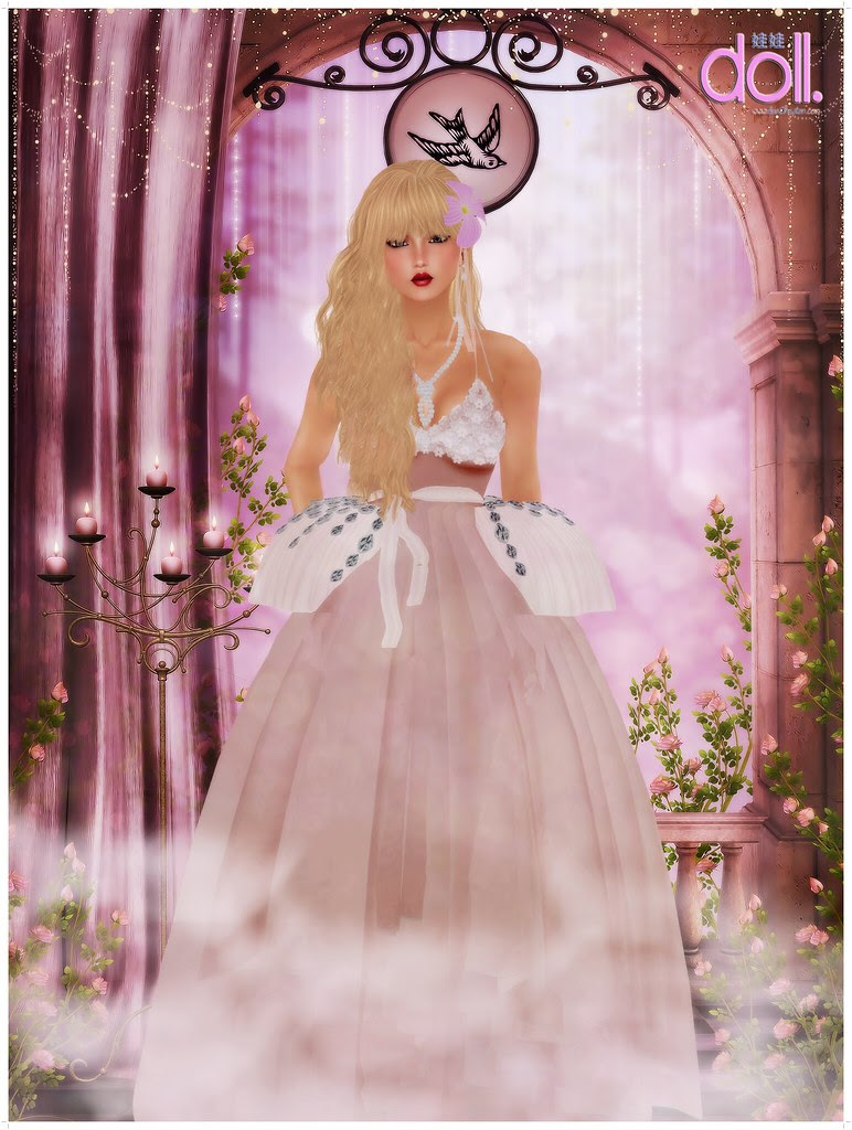 [LOTD.] Pink gown