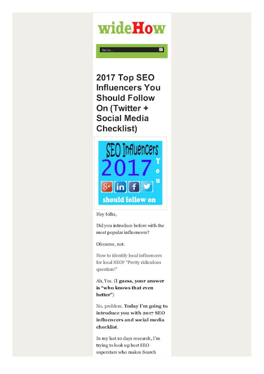 2017 Top SEO Influencers to Follow on Twitter pdf