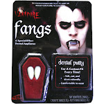 Fun World Fangs Dentures Vampire Costume Accessory