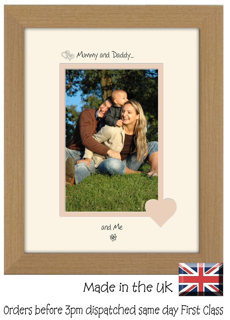 Mummy Daddy Photo Frame Mummy And Daddy And Me Portrait