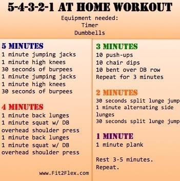 Daily Gym Workout Schedule | Daily Agenda Calendar