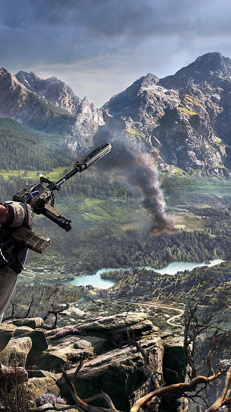 Sniper Ghost Warrior 3 Hd Wallpaper For Desktop And Mobiles Iphone