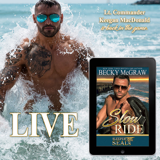 Book 2 is LIVE! Check out an excerpt from Slow Ride: Sleeper SEALs Book 2 by Becky McGraw!