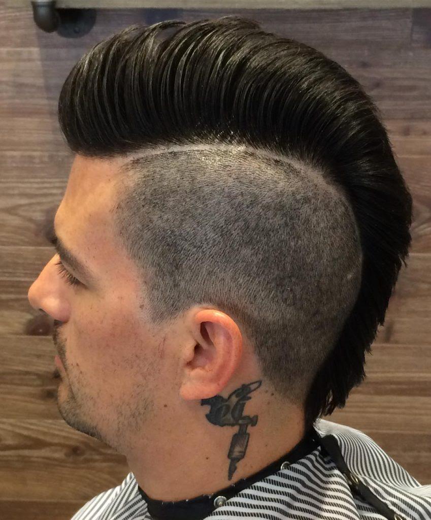 Haircut Like Mohawk Long Hairstyle