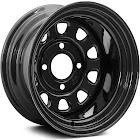 ITP 1225564014 Delta Steel Front ATV/UTV Black Wheel