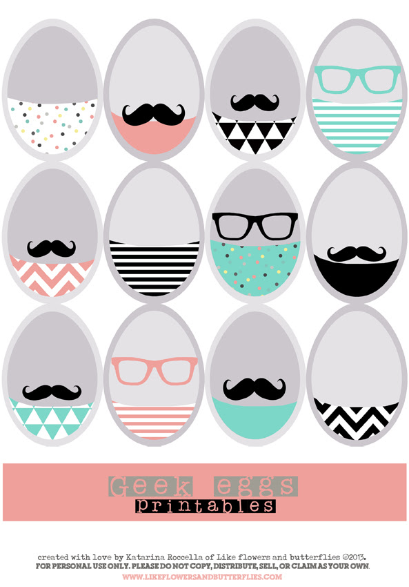 Geek eggs freebie