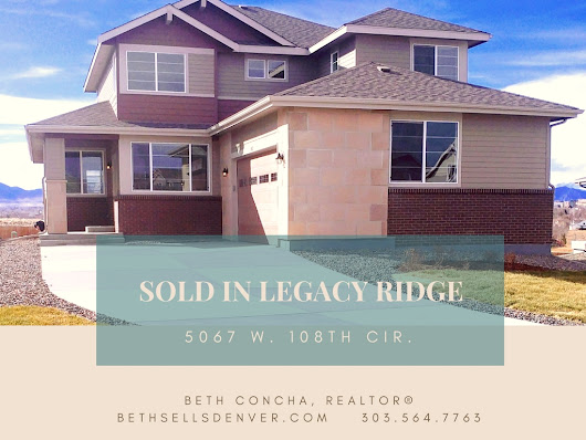 Sold in Legacy Ridge!