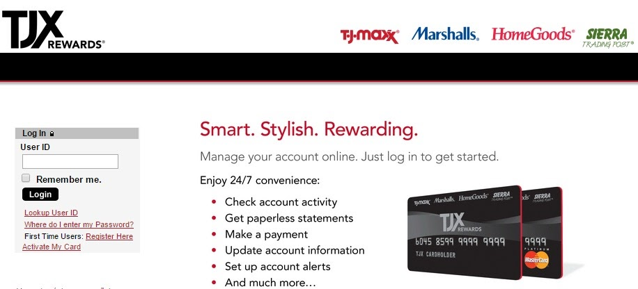 Tj Maxx Credit Card Phone Number To Pay Bill - Phone Guest