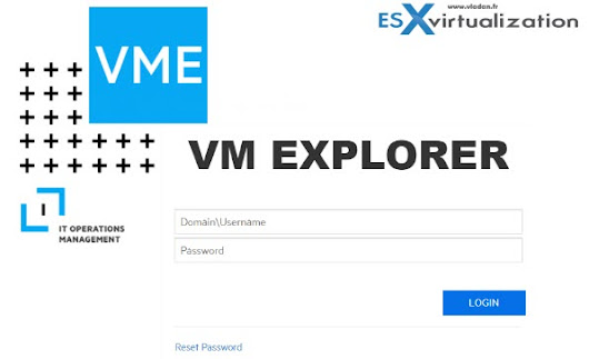 VM Explorer 7.1 Released with vSphere 6.7 Support | ESX Virtualization