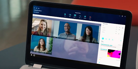 Amazon takes on Skype and GoToMeeting with its Chime video conferencing app