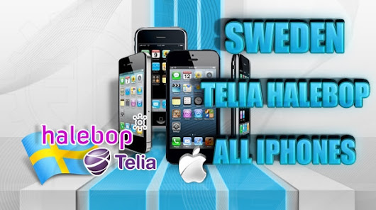 Sweden Telia | Halebop iPhone Unlock Permanent Official Factory Guaranteed