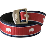 Mountain Khakis Tatanka Webbing Belt - Red