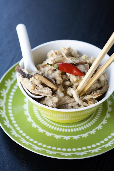 Chicken & Shitake Congee (1)