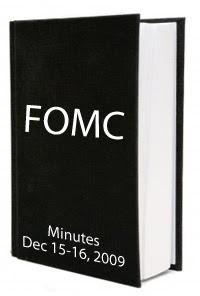 FOMC December 2009 Minutes