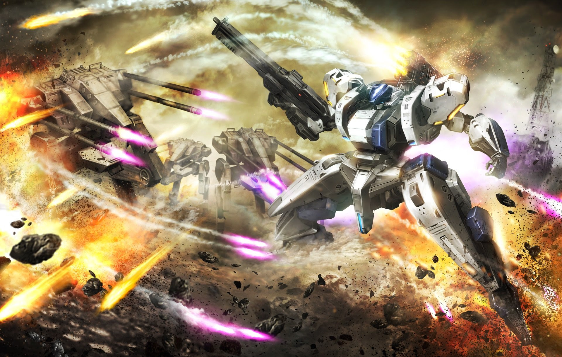 Vita-exclusive Assault Gunners is getting ported to PC and PS4 screenshot